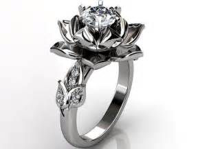 Lotus Flower Wedding Ring 17 Best Images About Wedding Rings Engagement Rings