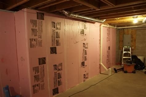 How To Install Basement Ceiling Insulation Basement Gallery How To Insulate Basement Walls Diy Projects Craft Ideas
