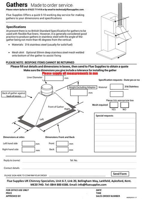 Bespoke Gather   forms.fluesupplies.com