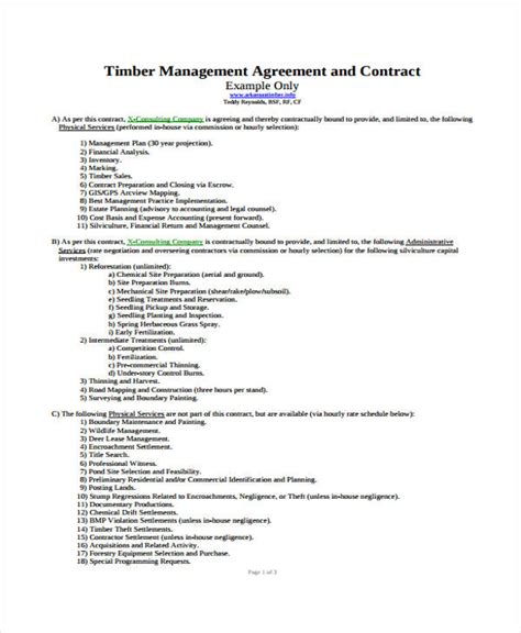 logging contract template logging contract template pchscottcounty