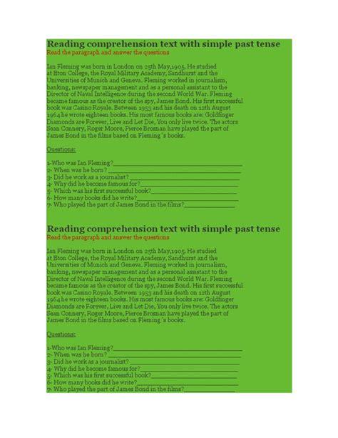reading comprehension test pdf esl business english reading comprehension test pdf lots of