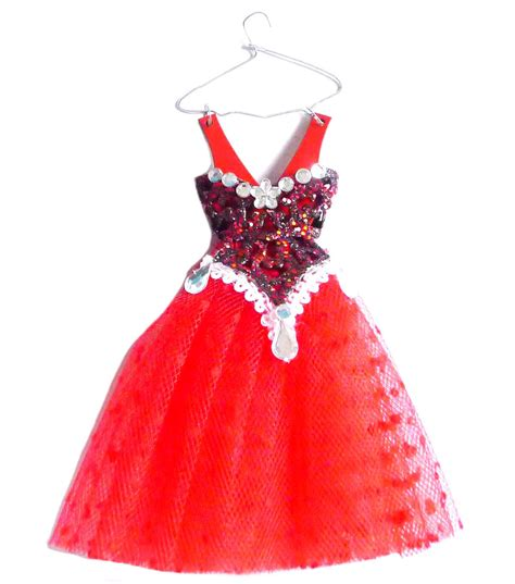 holiday cheer dress ornament red jo ann