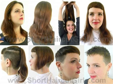 hair makeovers for women short haircut girls
