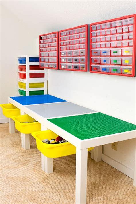 lego bench storage remodelaholic friday favorites lego storage and modern