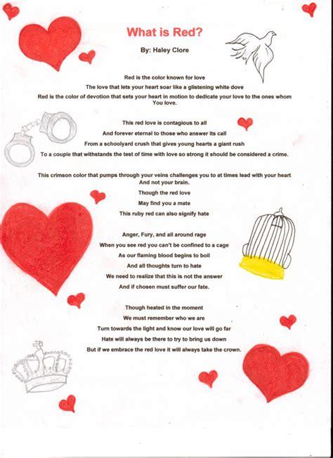 color poems color poems resourcing teachers
