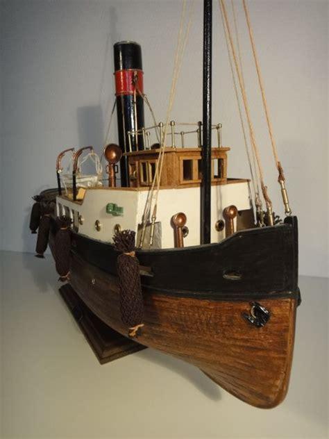 sleepboot houten sleepboot houten scheepsmodel catawiki