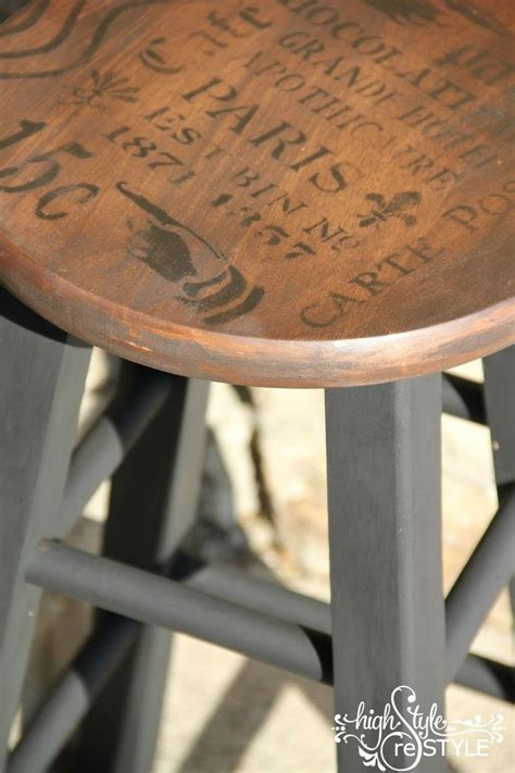 how to paint a bar stool 17 best ideas about bar stool makeover on pinterest