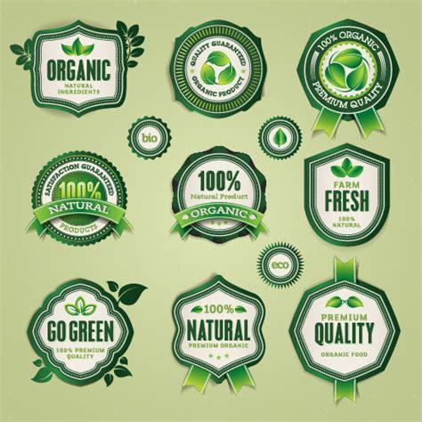 food label design eps set of organic food labels vector 03 over millions