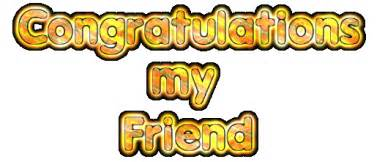 congratulations my friend namegif com