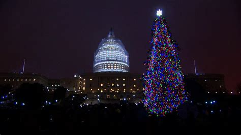 capitol christmas tree lighting ceremony