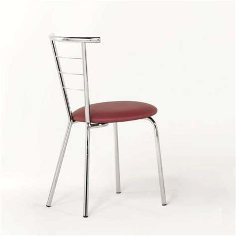 a chaise and four chaise de cuisine en m 233 tal et synth 233 tique val 233 rie 4