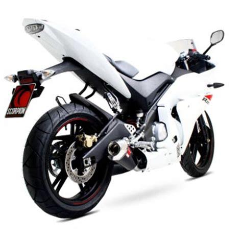 Knalpot Racing Scorpion Power Karbon Free Slip On 250cc yamaha yzfr125 scorpion powercone exhaust system eya83 msa direct