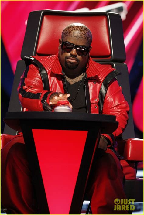 cee lo green head tattoo cee lo green on the voice real or ink