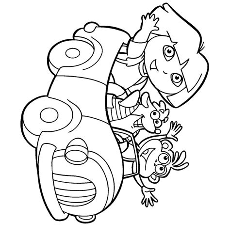 dora coloring page pdf coloring pages dora the explorer coloring pages coloring