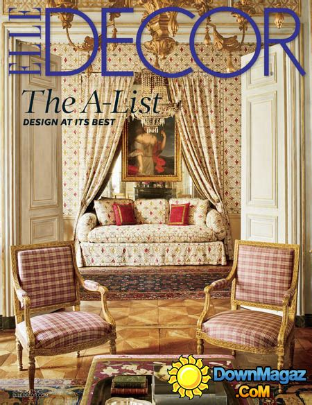 home decor magazines usa elle decor usa 06 2017 187 download pdf magazines