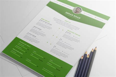 Resume Templates Psd Free Resume Template Psd 4 Colors On Behance