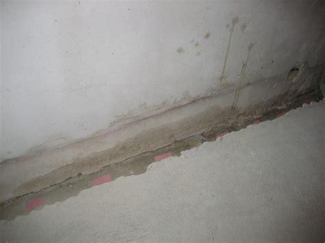 Feuchtigkeit Keller by Quot Aufsteigende Quot Feuchtigkeit In Porenbeton Keller