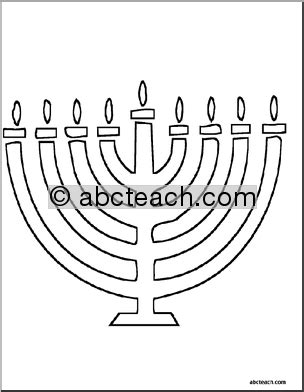 abcteach coloring pages coloring page hanukkah theme 4 pages abcteach