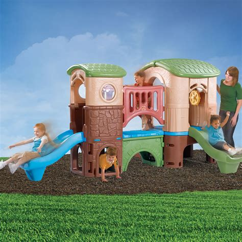 step2 naturally playful climber and swing clubhouse climber kids climber step2