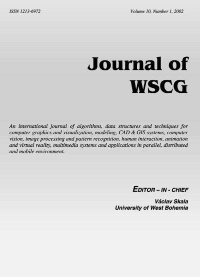 pattern recognition journal latex template download journal of wscg