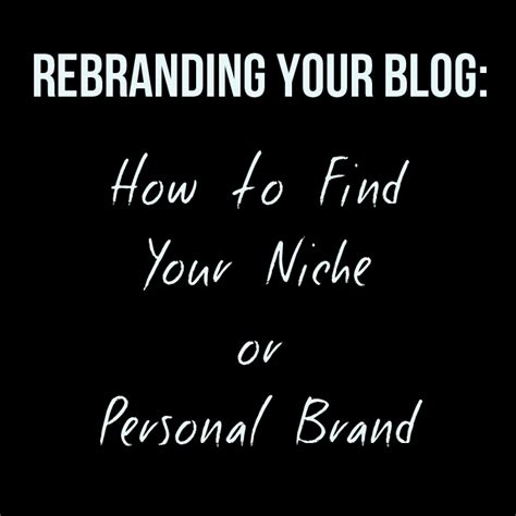 how to find niche business ideas your niche finder plan of how to find your niche or personal brand part 1 tico tina