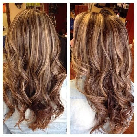 haircuts and highlights near me highlights and lowlights did them on the thick side by