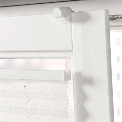 raamdecoratie met zijgeleiding bol klemsteun voor plisse met zijgeleiding voor