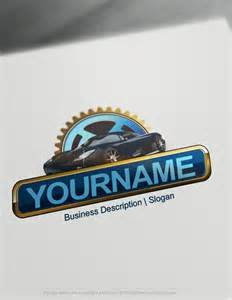 Design Garage Online design free logo car garage online logo template