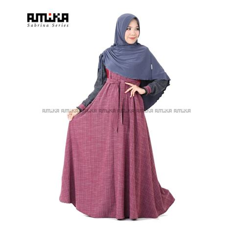 Gamis Sabrina Bahan Jersy Tebal 45 best gamis amika images on vintage and