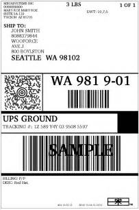 Usps Shipping Label Template by Woocommerce Ups Shipping Plugin With Print Label Xadapter