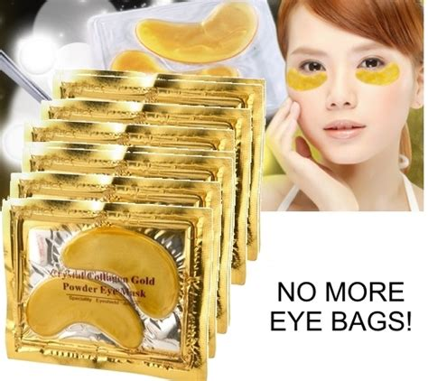 Gold Collagen Eye Mask anti aging 24k gold collagen eye mask 10 pairs gigi
