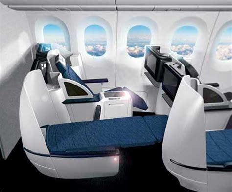 united airlines car seat leaked continental s new businessfirst seat dansdeals