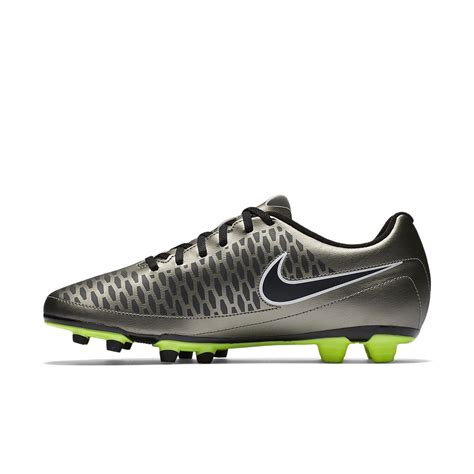 nike magista ola fg mens football boots metallic pewter