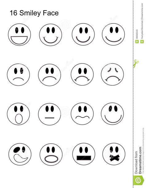 stencil lettere da stare insieme dell icona fronte di smiley 16 fotografia