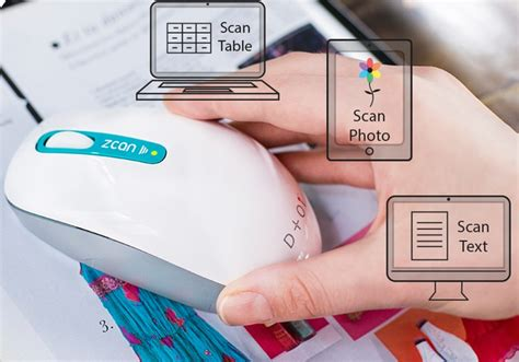 Wireless Mouse Scanner zcan portable wireless scanner mouse