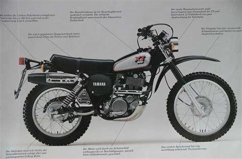 Yamaha Xt 500 Motor Lackieren by Yamaha Xt 500 Prospekt 1989 Urbane Sch 246 Nheit