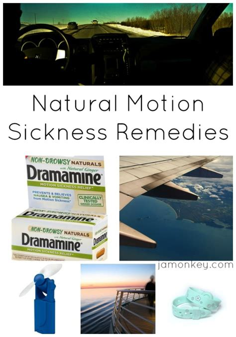 motion sickness remedies jamonkey