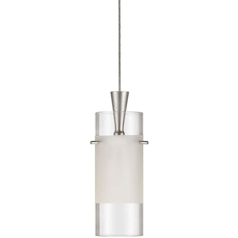 Frosted Glass Pendant Light Shade Dainolite Cylindrical Clear Frosted Glass Shade One Light Pendant By Oj Commerce Dlsl221 Cf Sc