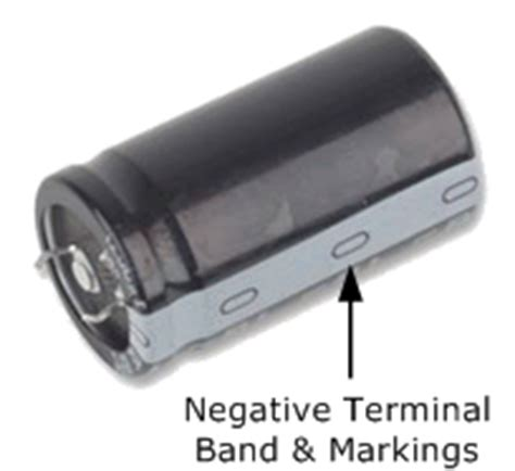 electrolytic capacitor negative voltage capacitor characteristics and capacitor specifications