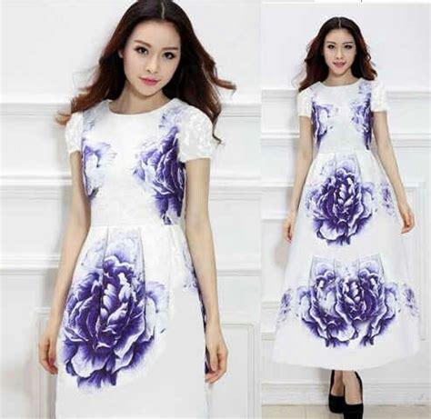 Simple Maxi Dress Cantik Murah baju gaun dress putih panjang quot dress maxi violet quot murah