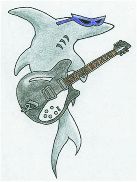 baby shark guitar guitar shark by mypetsally on deviantart