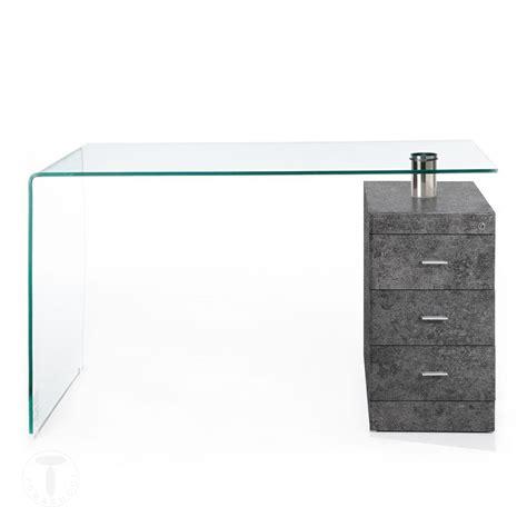 scrivania in vetro curvato scrivanie scrivania in vetro curvato bow cement