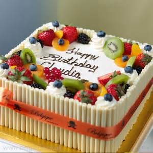 25 best ideas about fruit cake decorating on