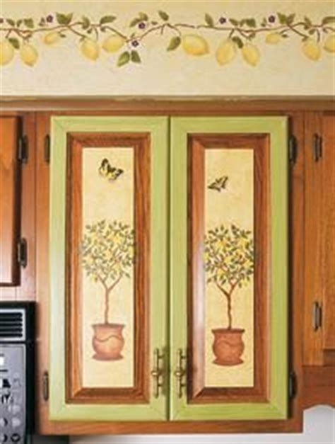 kitchen stencil ideas 9 best images about stenciled kitchen cabinets on