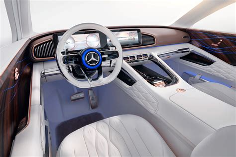 luxury mercedes maybach vision mercedes maybach luxury ev blends saloon