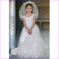 Girls kids childrens royal queen wedding dress bride fancy dress