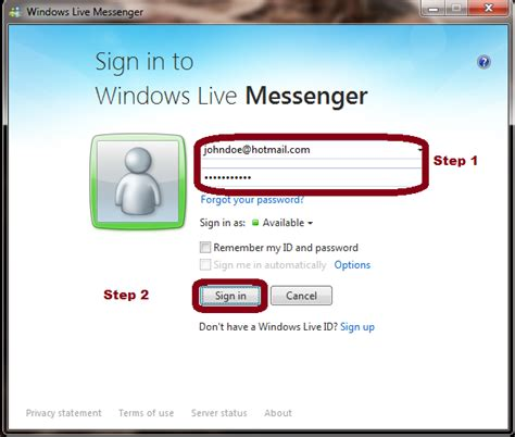msn hotmail mobile how to change mobile number in hotmail messenger