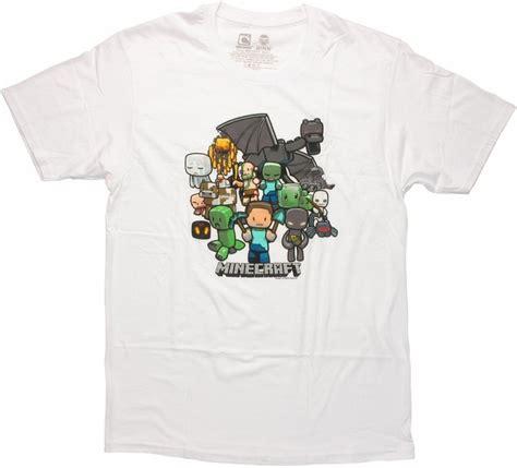 minecraft white t shirt