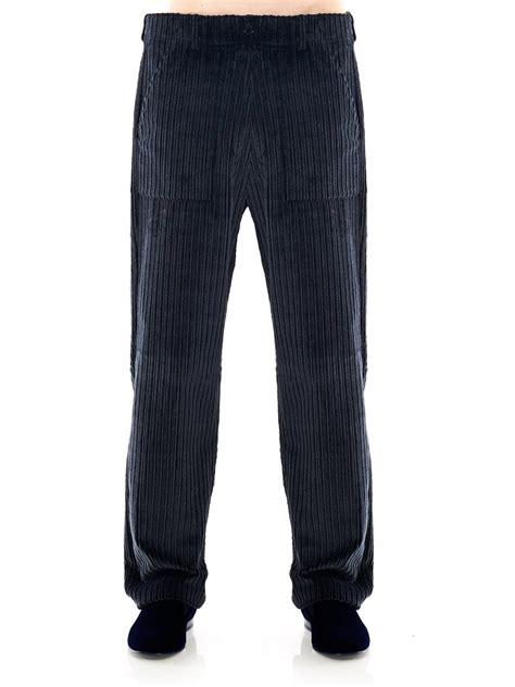 Sweater Macbeth Jumbo Navy lyst rake jumbo corduroy wide leg trousers in blue for
