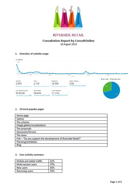 consultation report template consultonline what s better